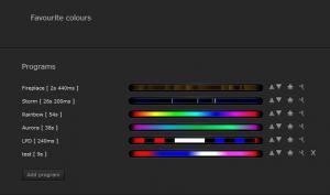 Reglage des couleurs modules RGBW de Fibaro