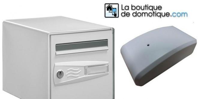 Domotiser sa bo te aux lettres avec un d tecteur de porte de garage domotiq - Boite aux lettres domotique ...