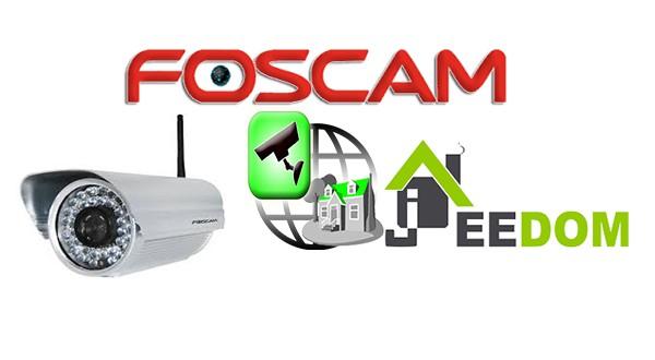 Intégration  Camera Foscam FI8905W sous jeedom