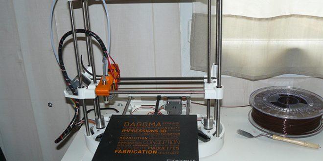 TEST DE L IMPRIMANTE 3D DISCOVERY 200 DE DAGOMA