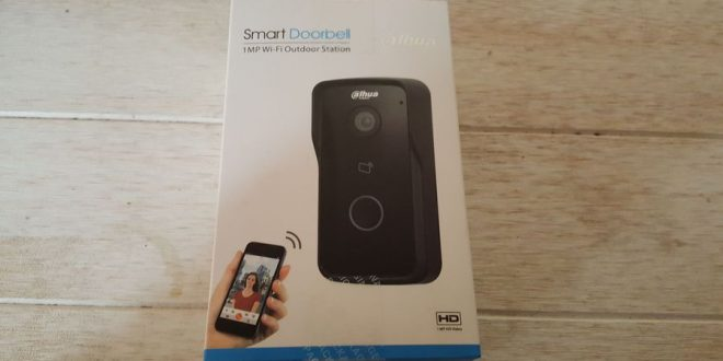 Test du Smart Doorbell de Dahua VTO2111D-WP